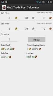 Guild Wars 2 TP Calculator- screenshot thumbnail