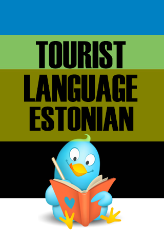Tourist language Estonian