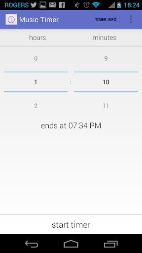 Music Timer Sleep Timer