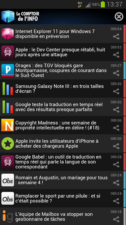 Comptoir de l'Info - screenshot
