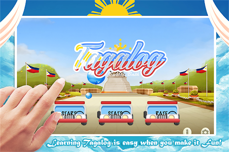 Learn Tagalog Bubble Bath Game- screenshot thumbnail