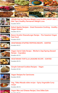 Vegan Food Recipes - screenshot thumbnail