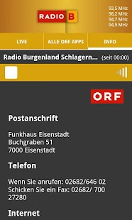 ORF Radio Burgenland- screenshot thumbnail