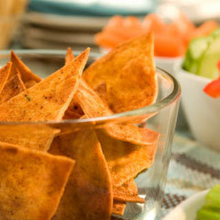 Chili Pepper Baked Tortilla Chips.