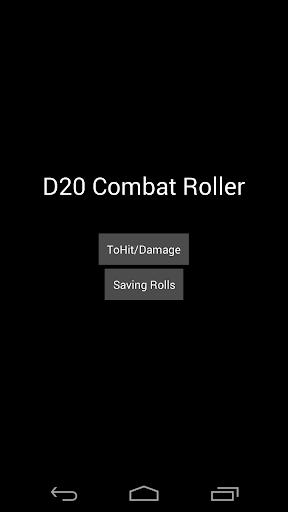 D20 RPG Combat Roller Pro
