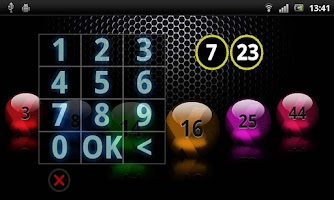 Screenshot of Lotto Maker