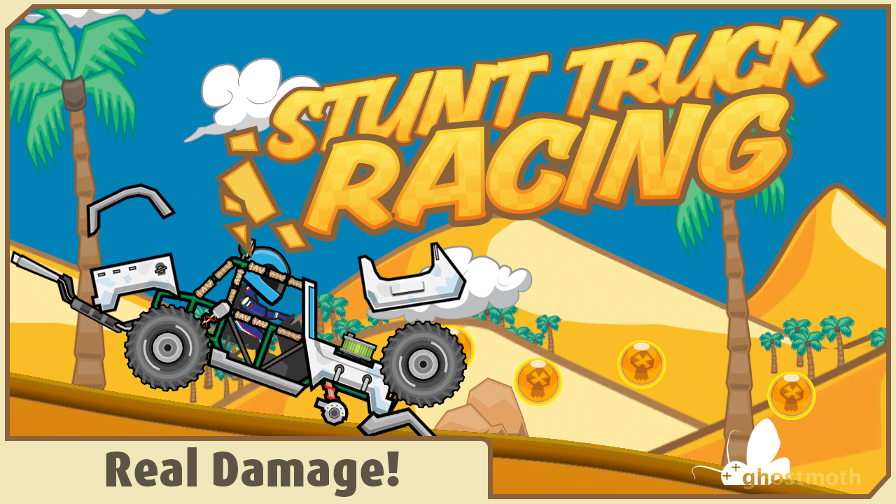 Stunt Truck Racing- screenshot