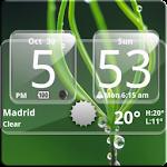 Sense Analog Glass Clock 4x2 4.2.4 Apk