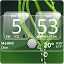 App Sense Analog Glass Clock 4x2 APK for Windows Phone