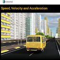 Speed, Velocity & Acceleration icon