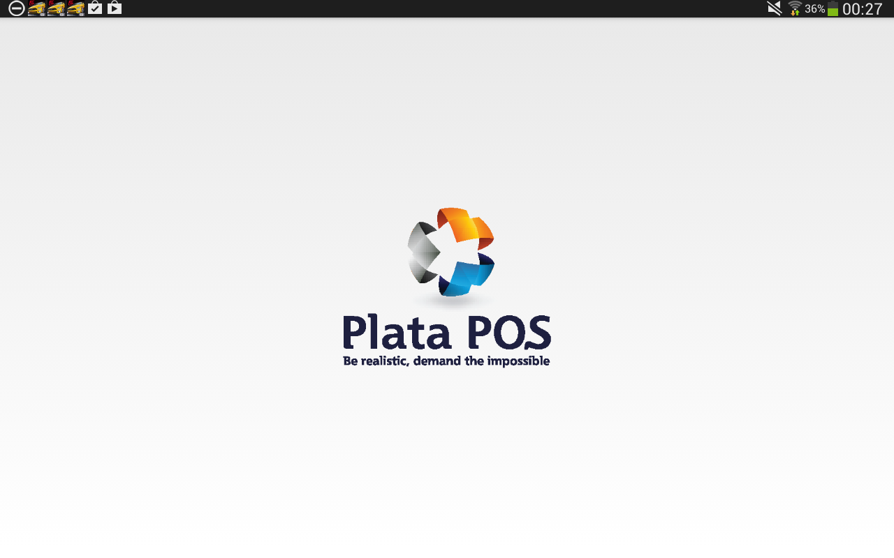 Plata POS- screenshot