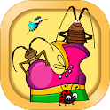 Bugs for kids icon