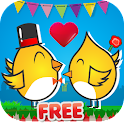 Lovely Puffs Color Match FREE! icon