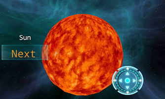 Screenshot of Planets 3D - Solar System HD