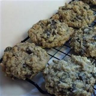 Oatmeal Banana Raisin Coconut Cookies.