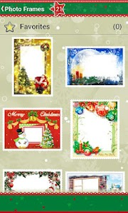 Christmas Photo Frames screenshot 0