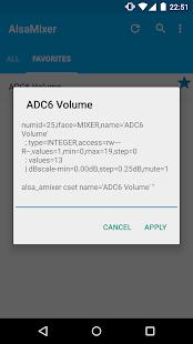 AlsaMixer (ROOT) - screenshot thumbnail