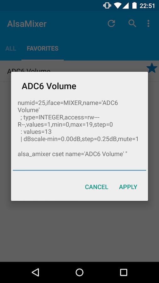 AlsaMixer (ROOT) - screenshot