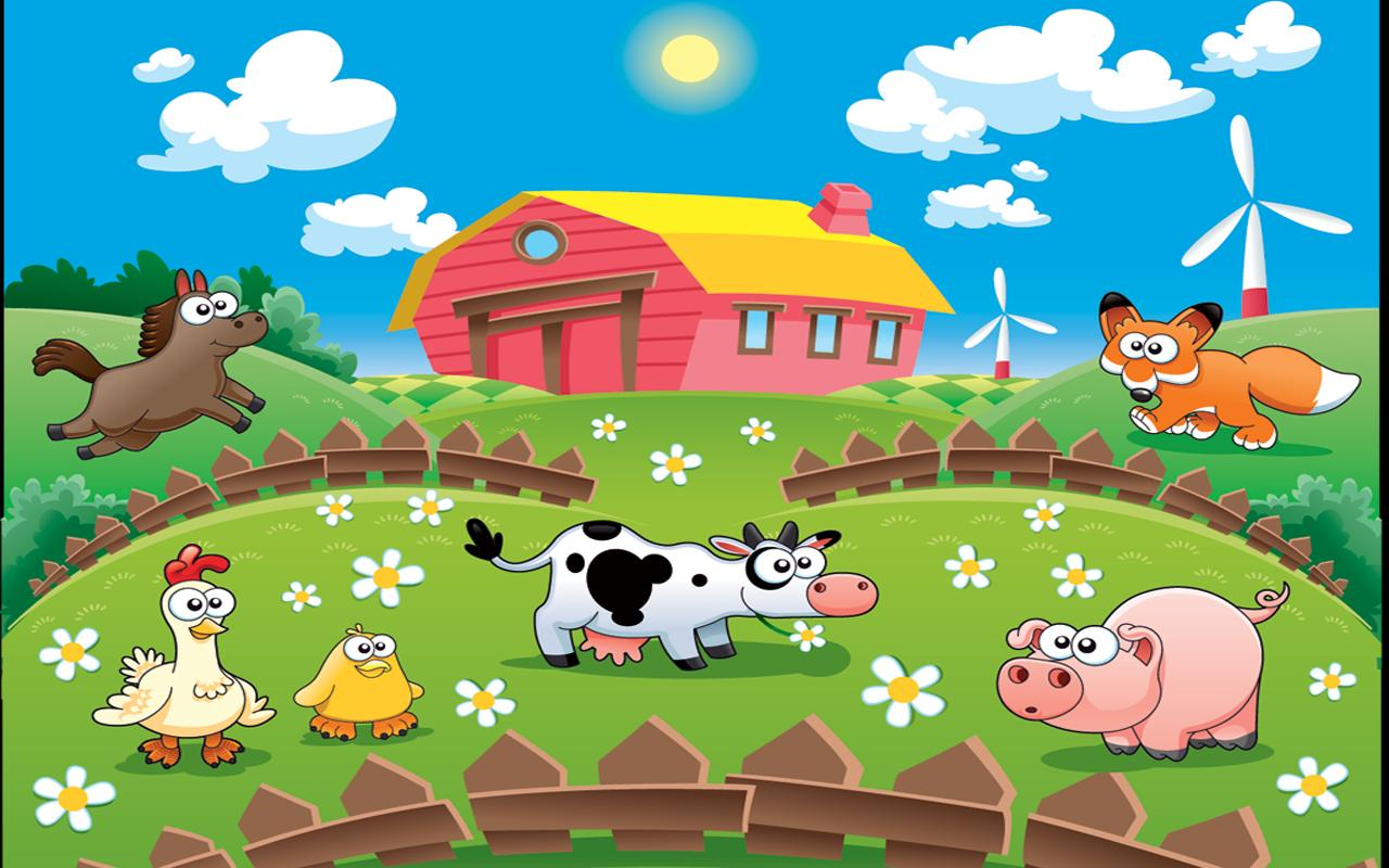 farm animals for kids hd lite screenshot