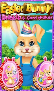 Easter Bunny Dress Up eCard