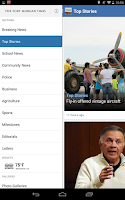 Screenshot of Fort Morgan Times