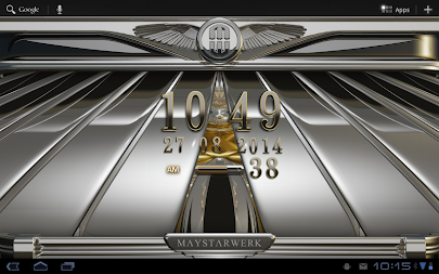 Digi Clock Widget Iridium APK screenshot thumbnail 6