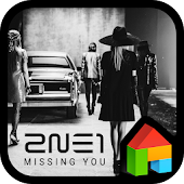 2NE1 MISSING YOU dodol theme