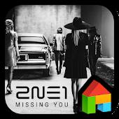 2NE1 LINE Launcher theme