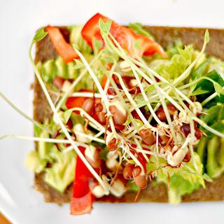 Avocado Sprouts Sandwich Recipes.