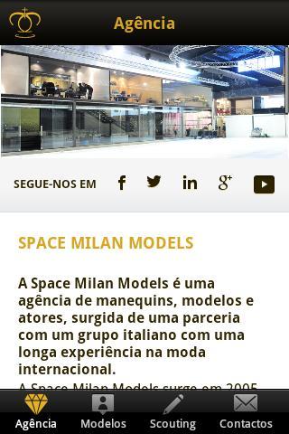 Space Milan Models