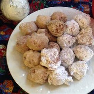 Crispy Cornmeal Drop Doughnuts