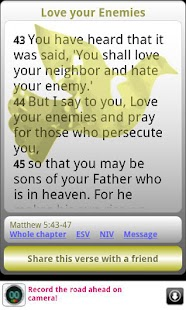 Words of Jesus Daily Bible - screenshot thumbnail