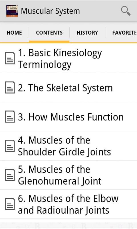 The Muscular System Manual - screenshot