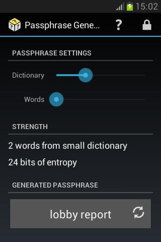 Passphrase Generator