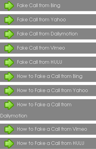 Guideline Fake Call