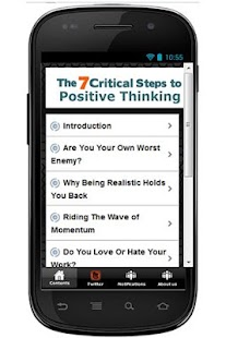 7 Steps to Positive Thinking - screenshot thumbnail