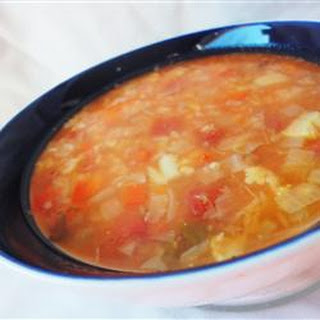 Fat-Free Vegetable Soup.