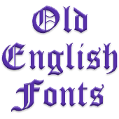 OldEng Fonts for FlipFont free
