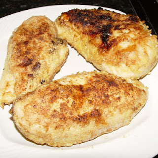 Parmesan Crusted Boneless Chicken Breast