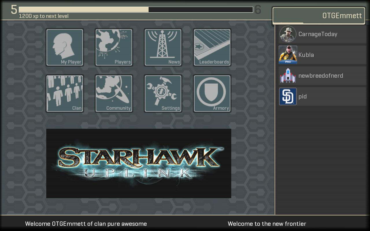 Starhawk Uplink - screenshot