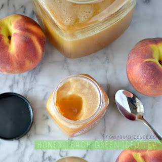 Honey Peach Green Tea.