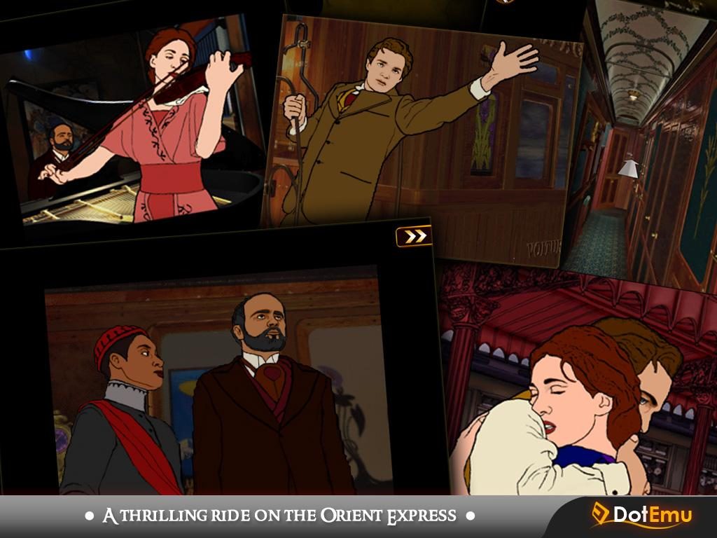 The Last Express - screenshot
