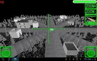 Screenshot of 3D AC130 City Defender