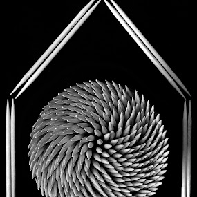 rumah tusuk gigi by Khoirul Huda - Artistic Objects Other Objects