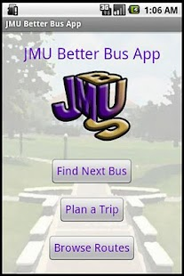 Donations for JMU Better Bus - screenshot thumbnail