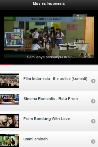 Movie Indonesia - screenshot