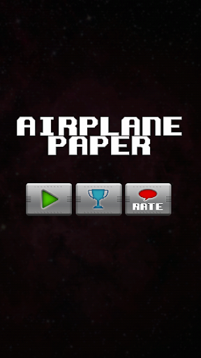 Airplane Paper