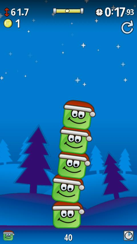 ShakyTower Christmas - screenshot
