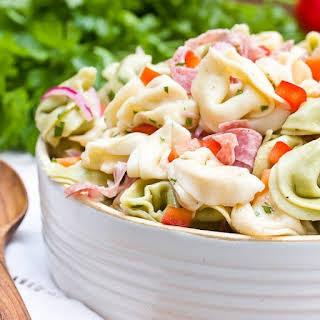 Zesty Tortellini Salad.