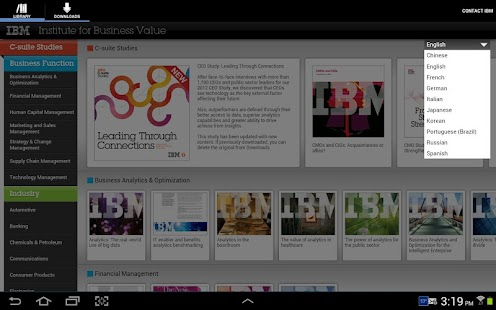 IBM IBV - screenshot thumbnail